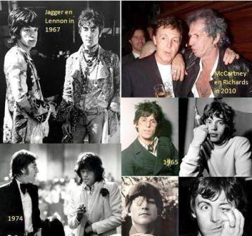 Jagger Richard Lennon McCartney
