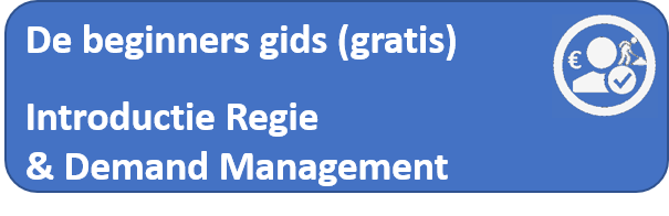 introductie regie en demand management