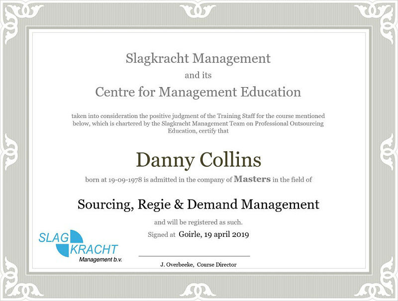 Master in Regie en Demand Management