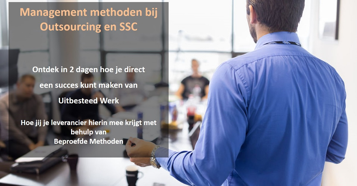 training management methoden bij outsourcing