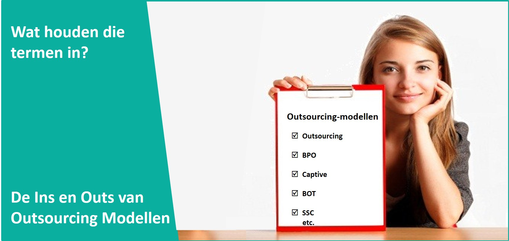 Outsourcing modellen